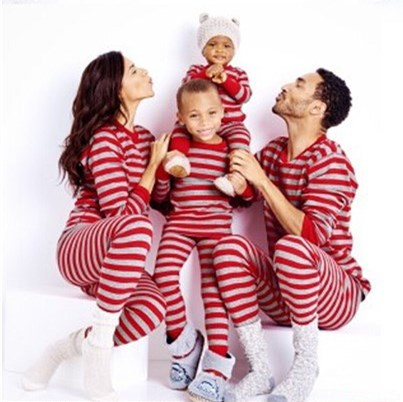 Striped Family Matching Pajamas