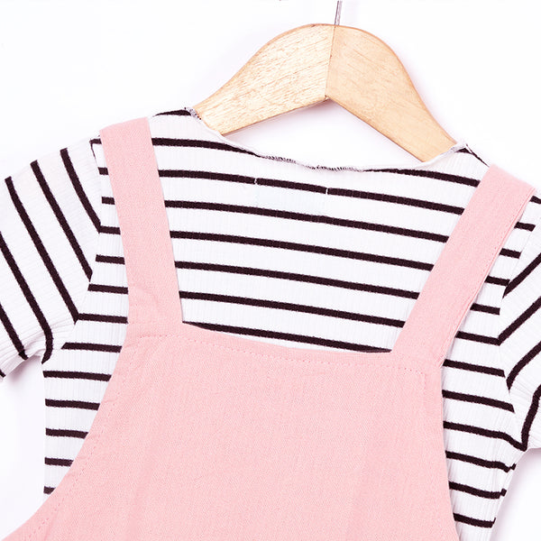 Kitty Strap Dress And Tee