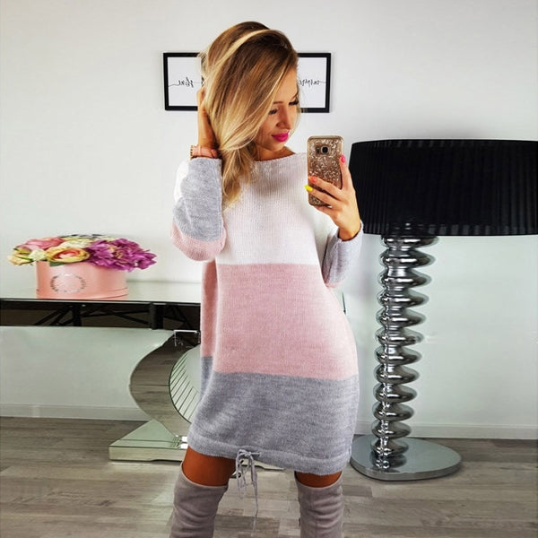 Della Cozy Sweater  Dress