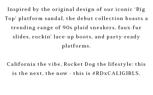 Shop the Rocket Dog Chloe Bartoli Collection