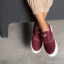 Rocket Dog® Afina Burgundy Slip-On Sneaker
