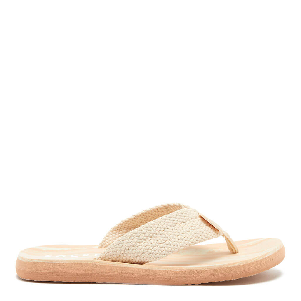 Rocket Dog® Adios Cream Webbing Flip Flop