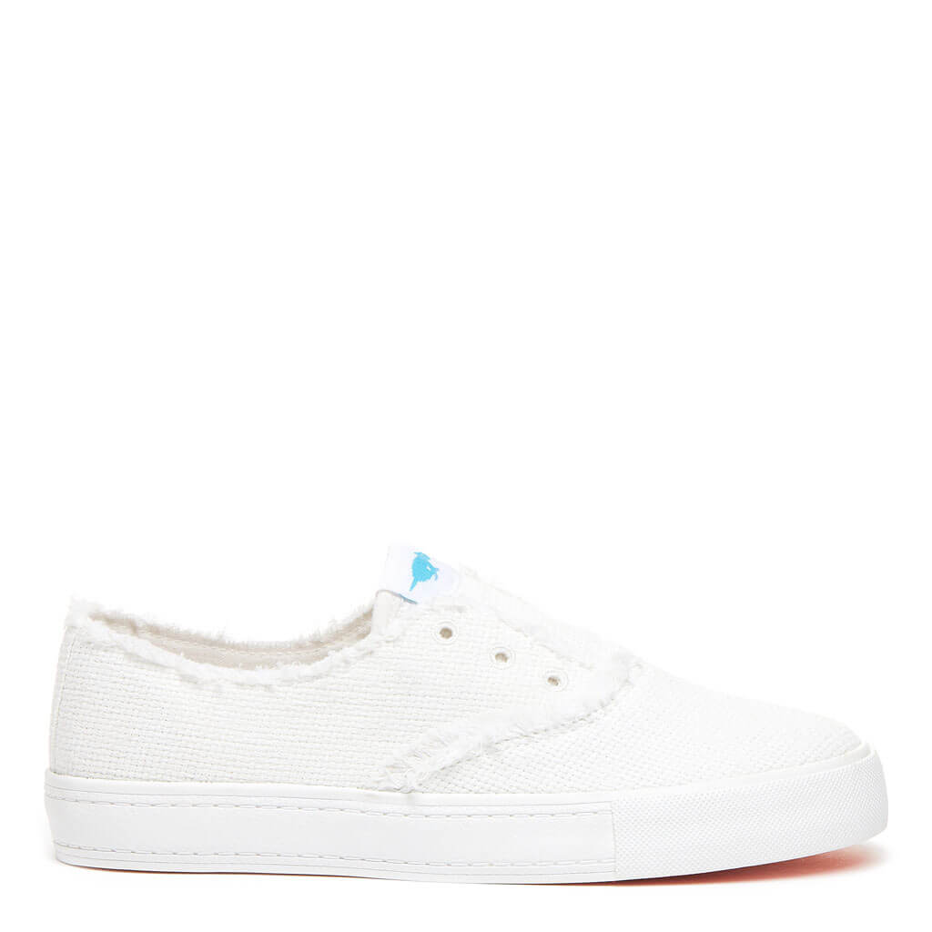 Afina White Slip-on Sneaker