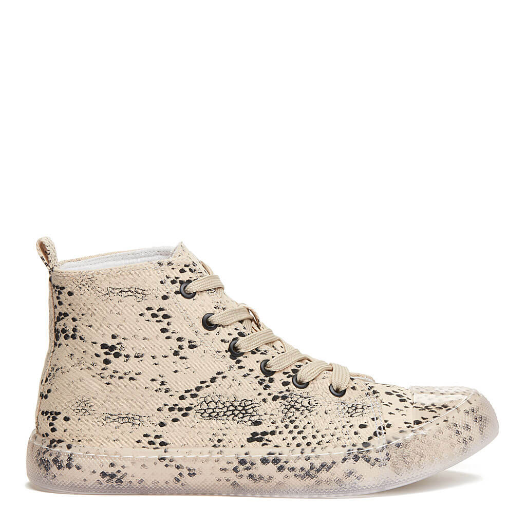 Ava Snake High Top Sneaker