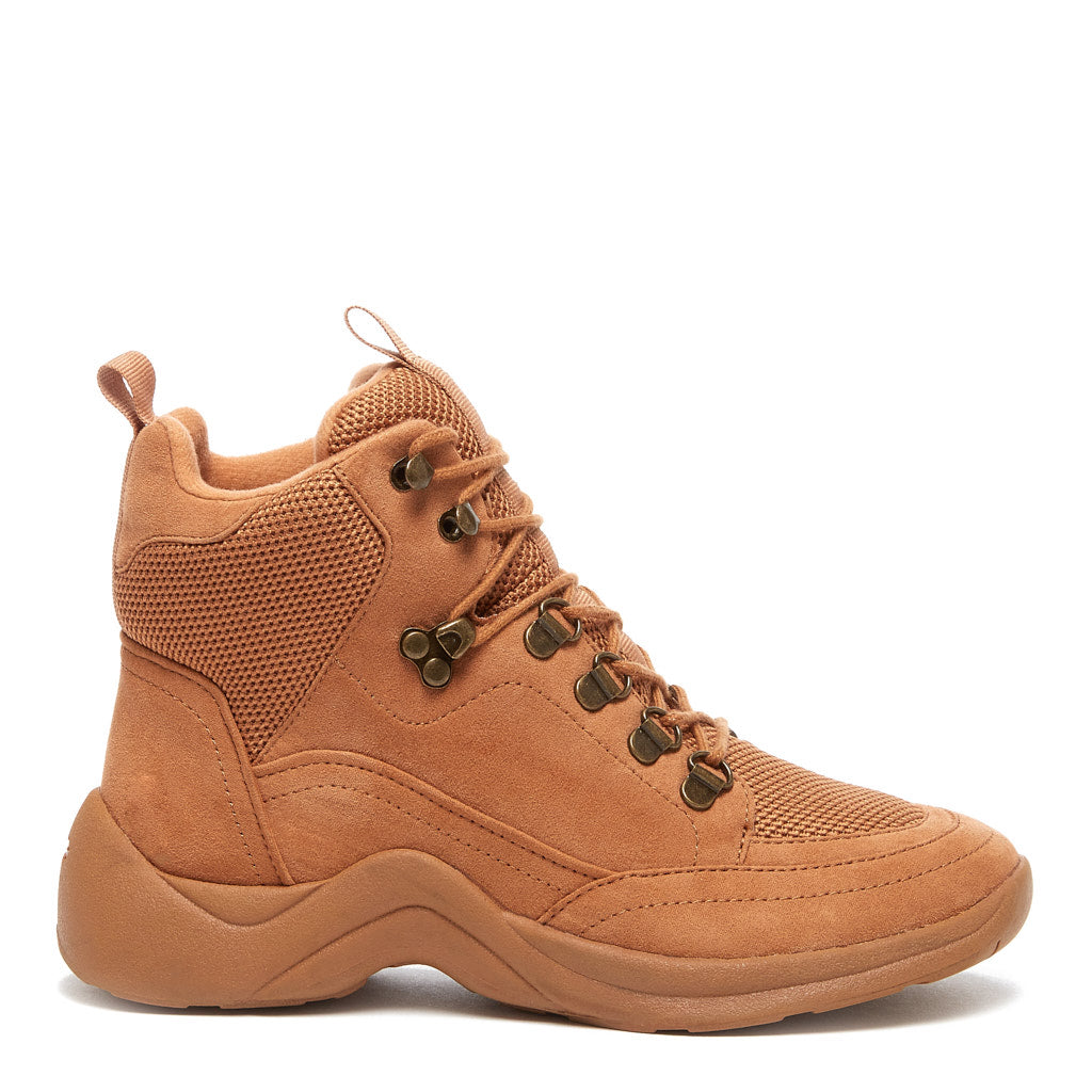 Bristel Tan Lace-up Boot