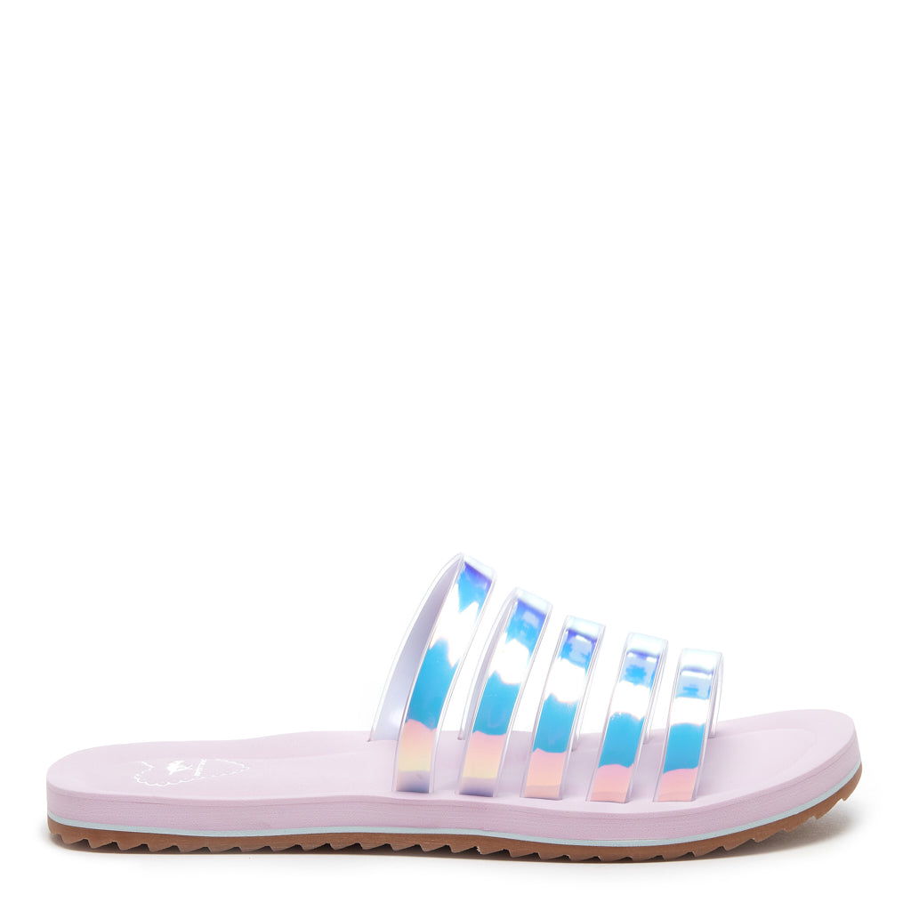 Elka Pink and Blue Strap Sandal