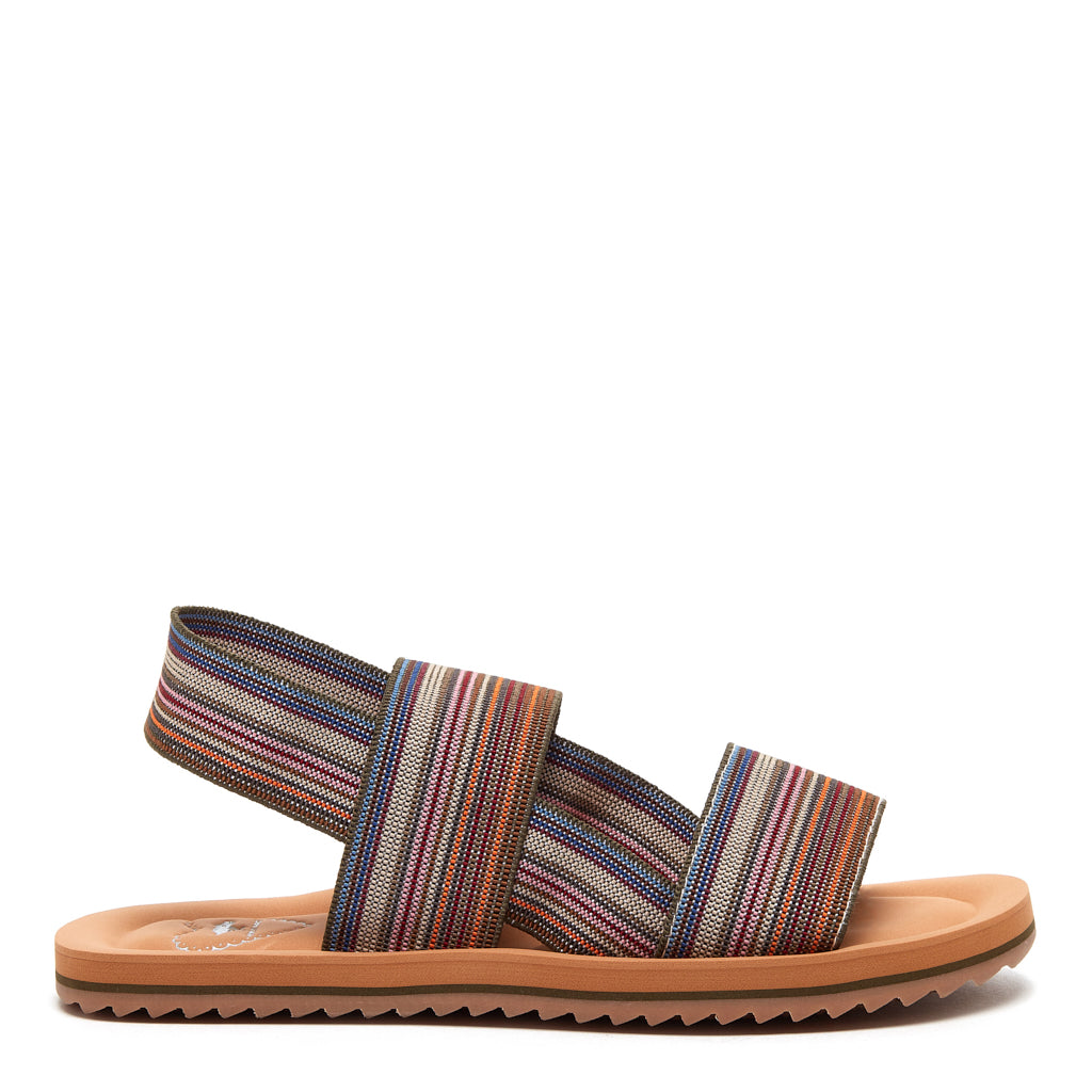 Ellen Striped Sandal