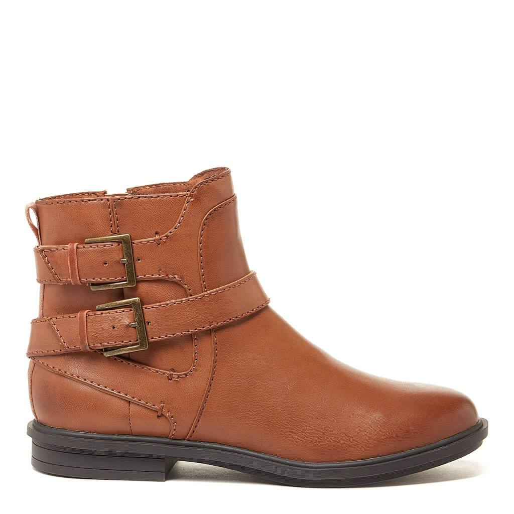 Geo Cognac Ankle Boot