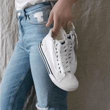 Jazzin White High Top Sneaker