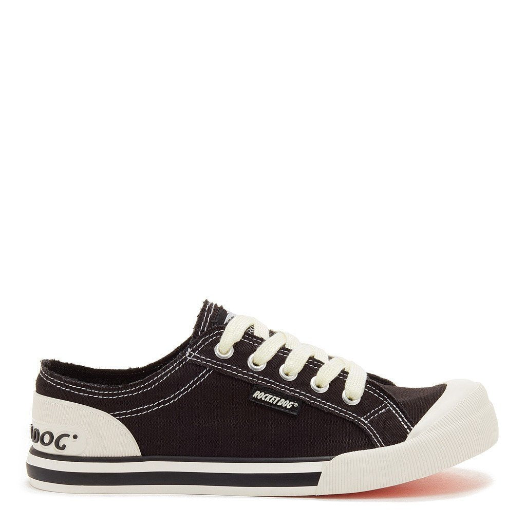 Jazzin Black Canvas Women's Sneaker