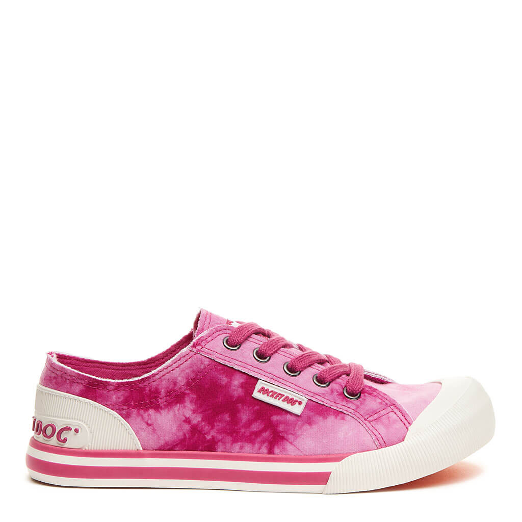 Rocket Dog® Jazzin Hot Pink Tie Dye Sneaker