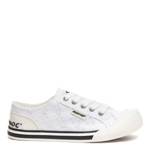 Rocket Dog® Jazzin White Eyelet Sneaker