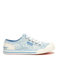 Jazzin Light Blue Paisley Sneaker