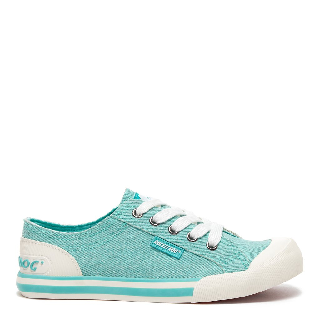 Mint Green Denim Sneaker