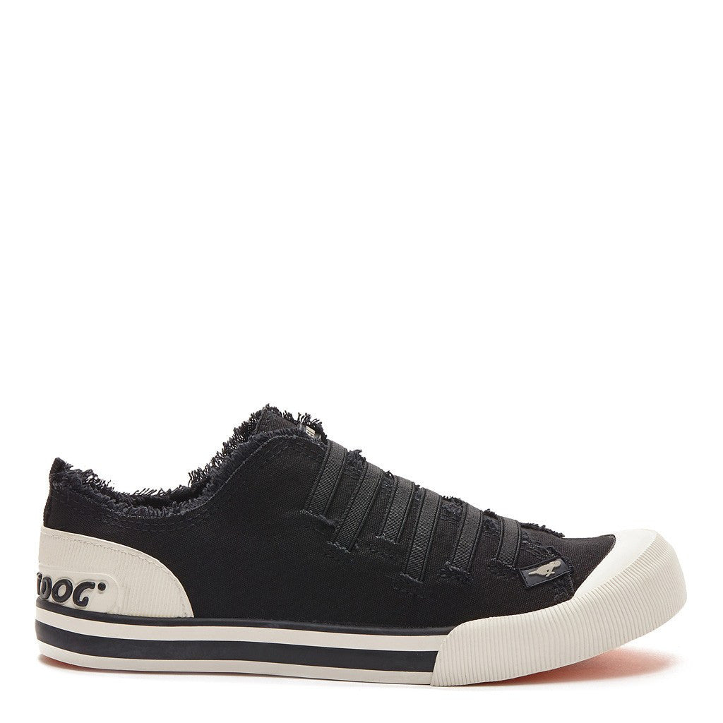 Joint Black Canvas Sneaker