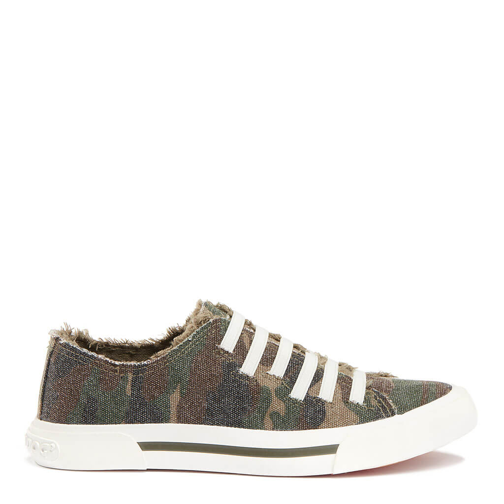 Jokes Dark Camo Slip-on Sneaker