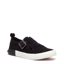 Jorra Black Slip-on Sneaker
