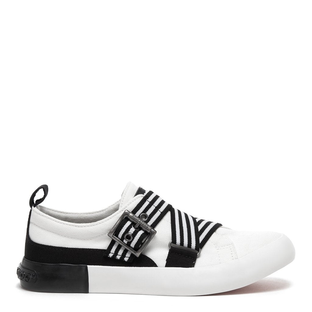 Jorra Black and White Sneaker