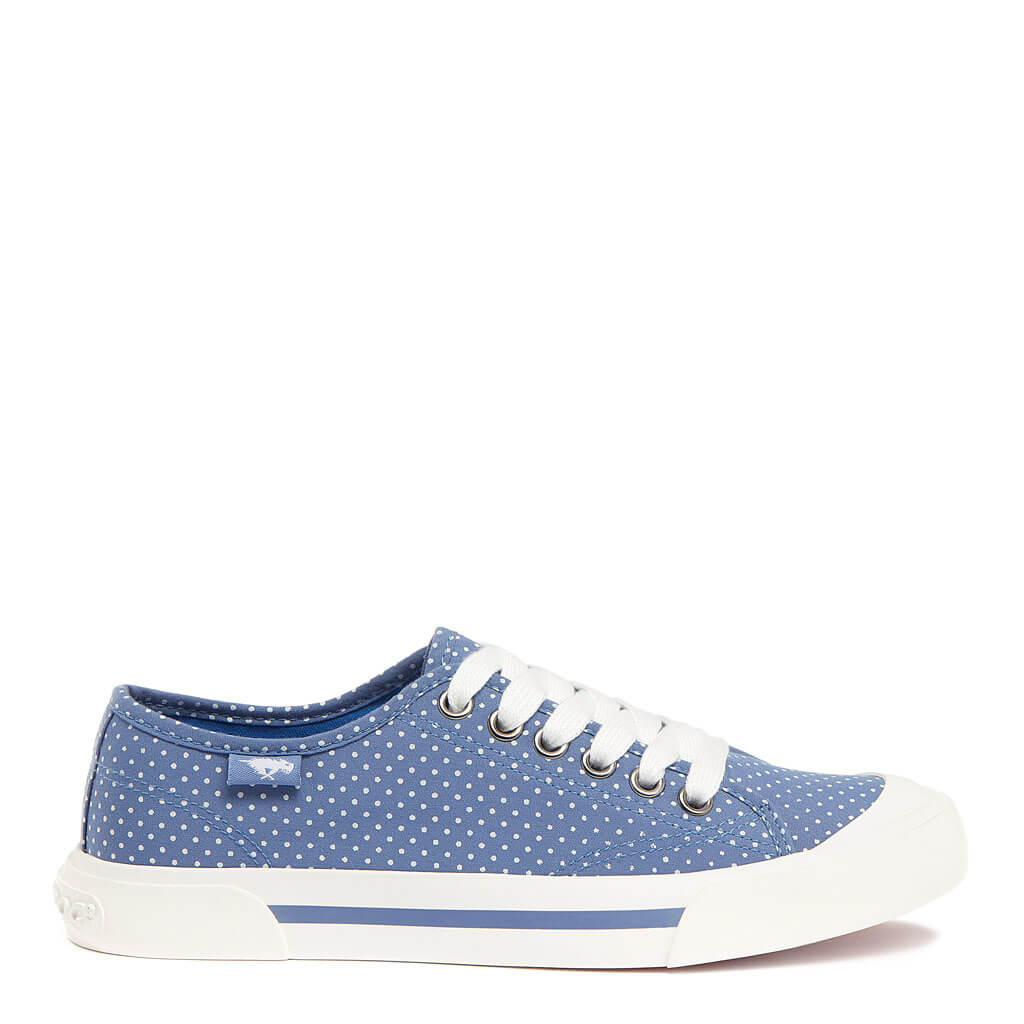Jumpin Steel Blue Polka Dot Sneaker