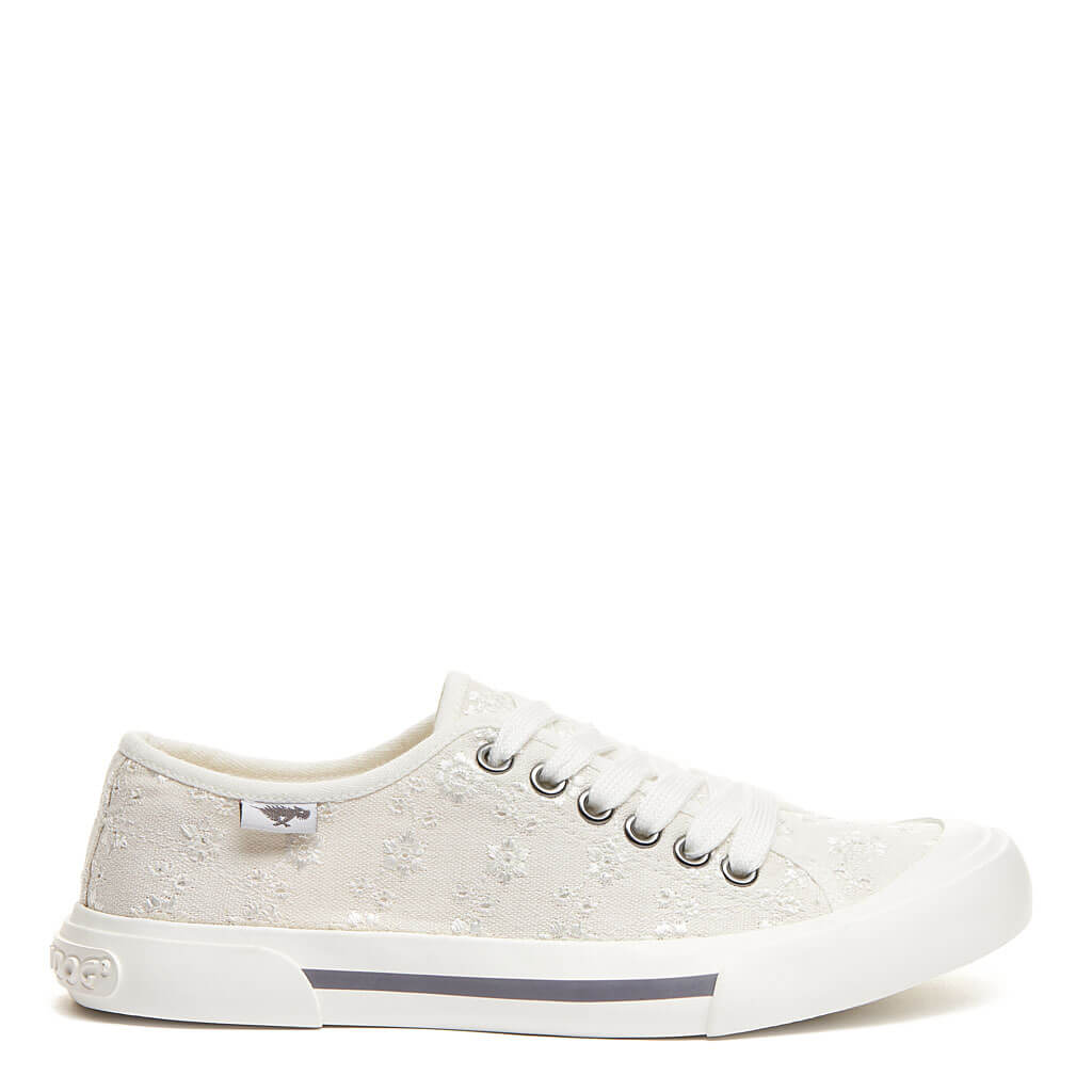 Rocket Dog® Jumpin White Eyelet Sneaker