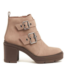Kamari Taupe Buckle Boot