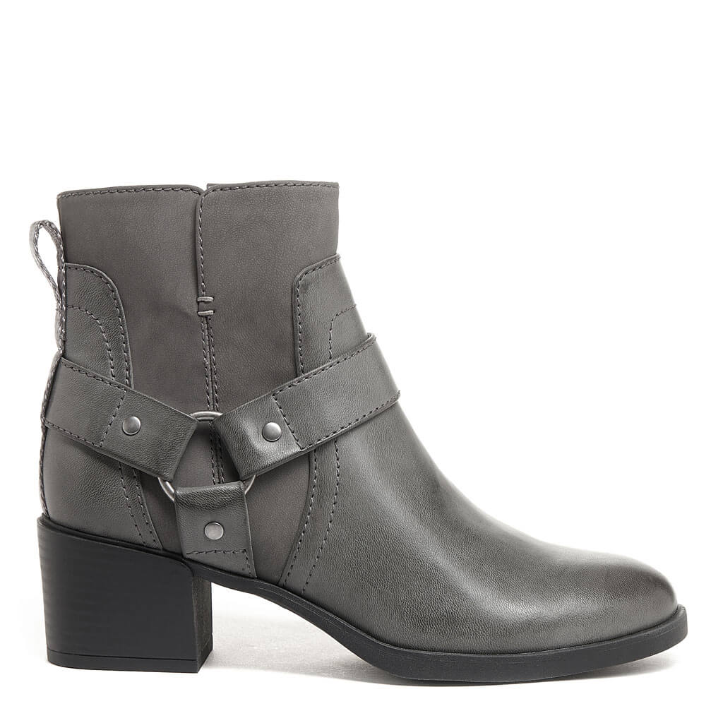 Lex Grey Biker Boot