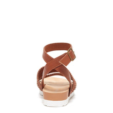 Rocket Dog® Leysa Brown Women's Braided Strap Sandal