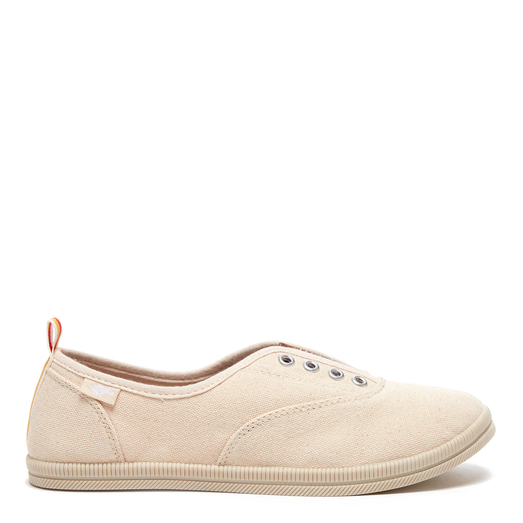 Mariella Natural Tan Slip-on Sneaker
