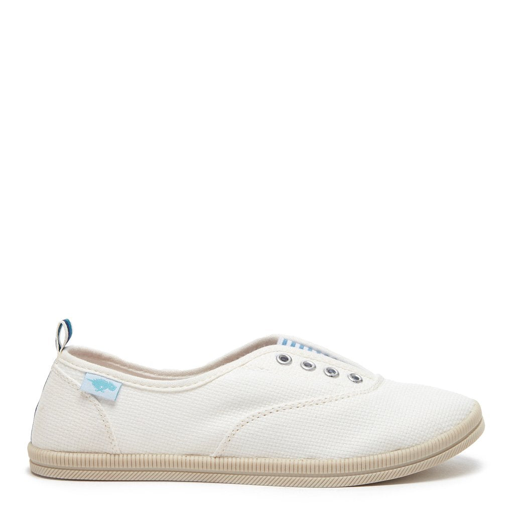 Mariella White Slip-on Sneaker