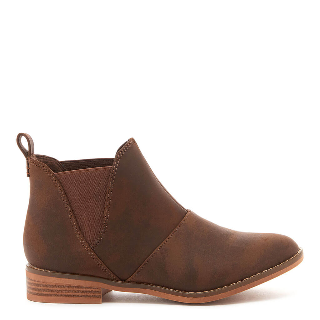 Maylon Brown Ankle Boot