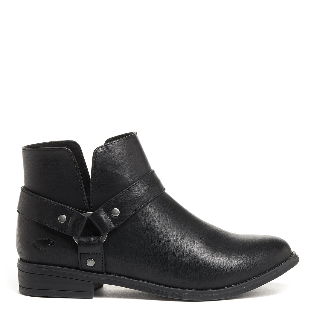 Mila Black Biker Boot