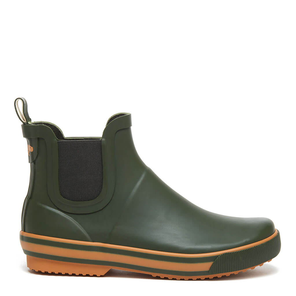 Rainbow Green Rain Booties
