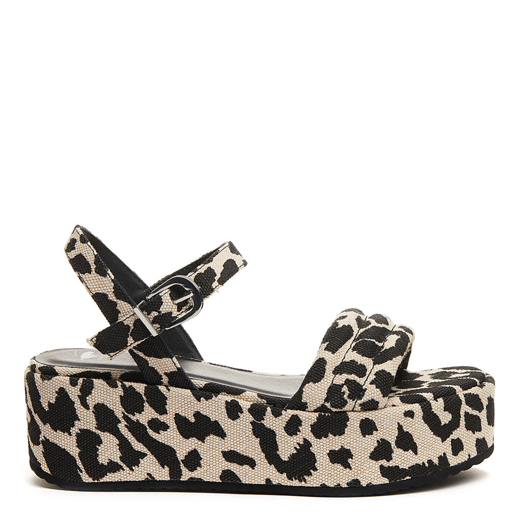 Rocket Dog® Rally Leopard Platform Sandal