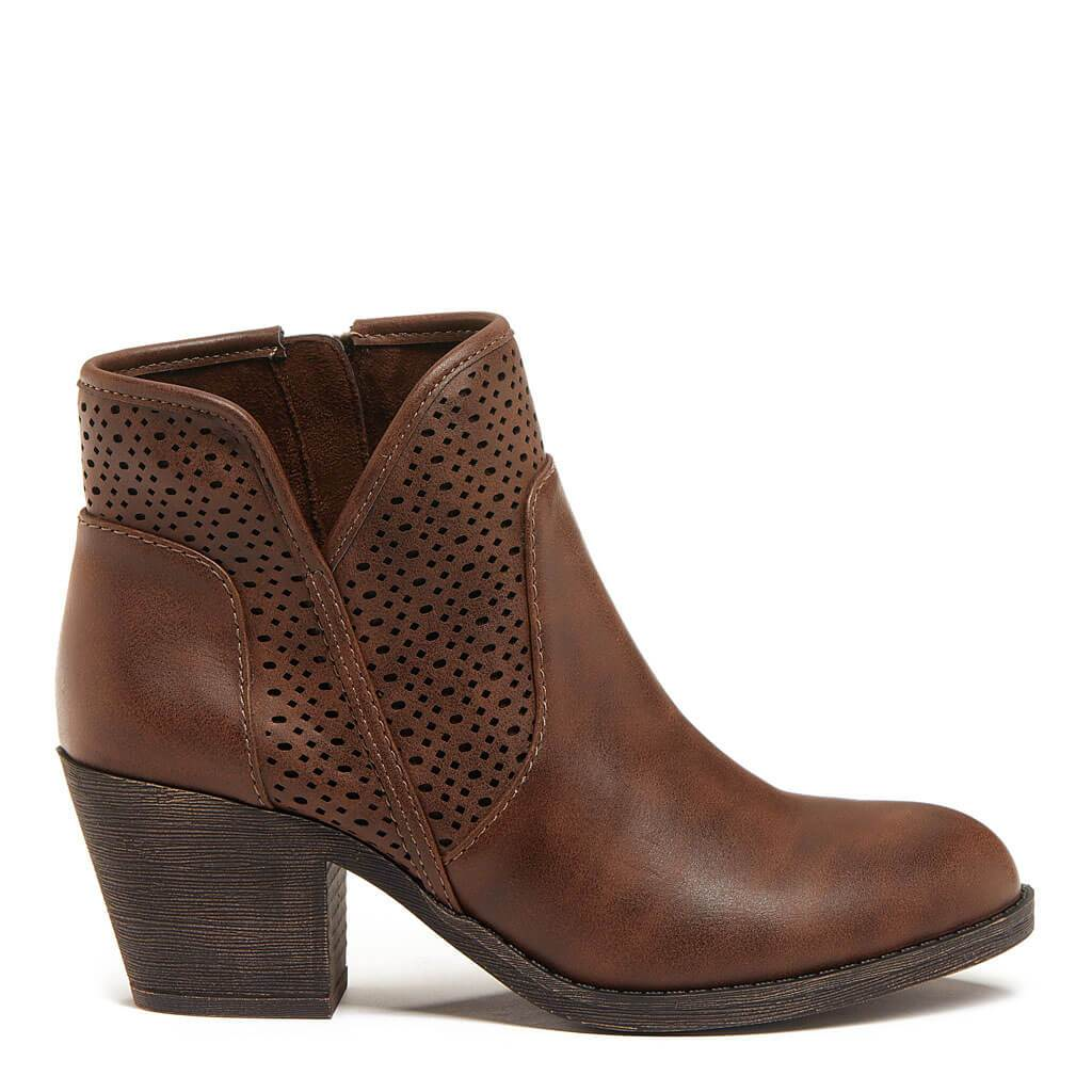 Savana Brown Bootie