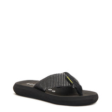 Spotlight Black Mesh Flip Flop