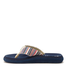 Spotlight Multicolor Navy Stripe Flip Flop