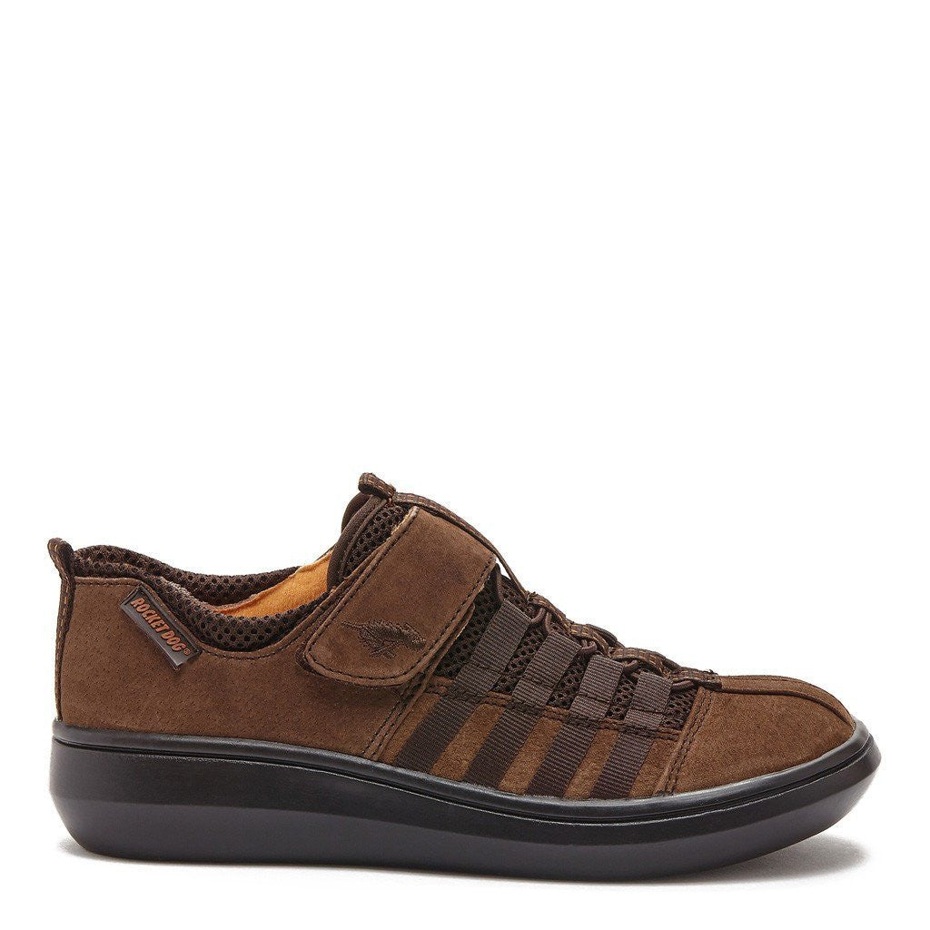 Stoker Nubuck Dark Brown Sneaker