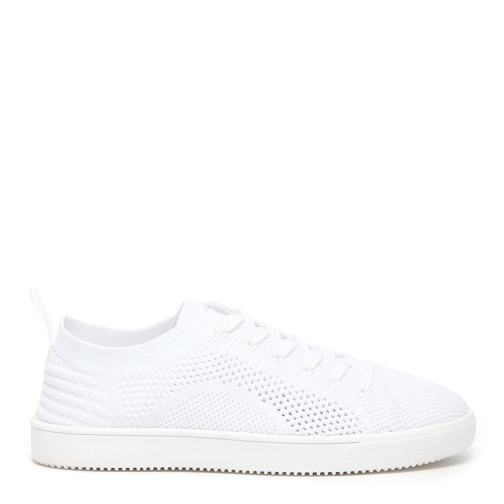 Tibor White Women's Knit Sneaker | Rocket Dog®