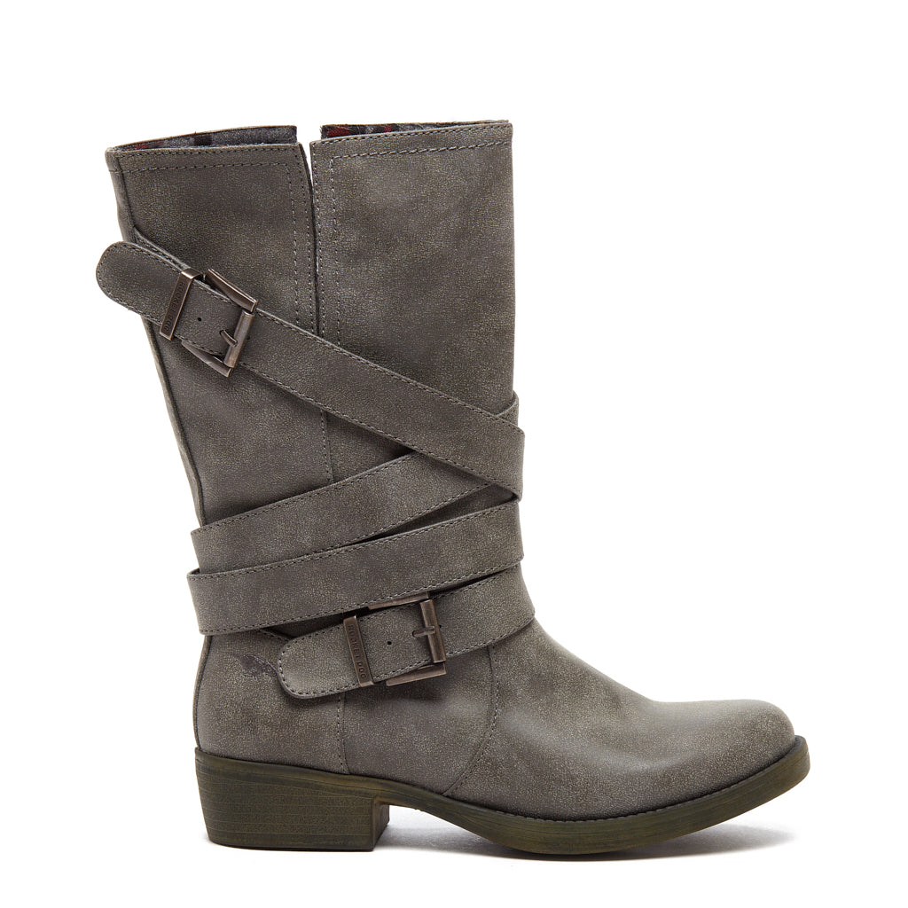 Truly Charcoal Moto Boot