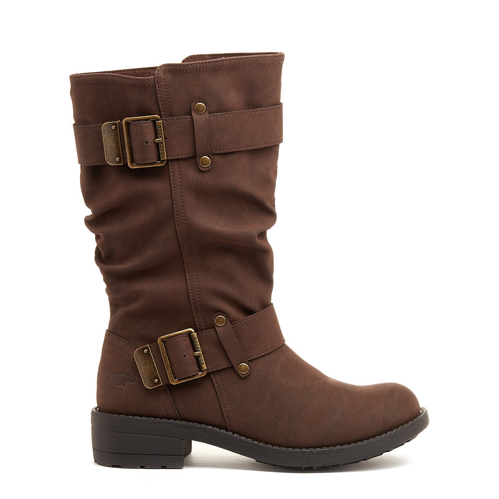 Trumble Dark Brown Biker Boot