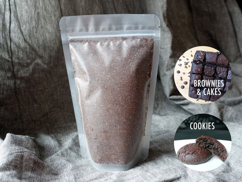 singapore gluten free vegan fudge brownie and cookies baking mix