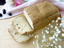 Singapore Paleo & Vegetarian High Fibre coconut bread, nut-free, gluten-free, dairy-free