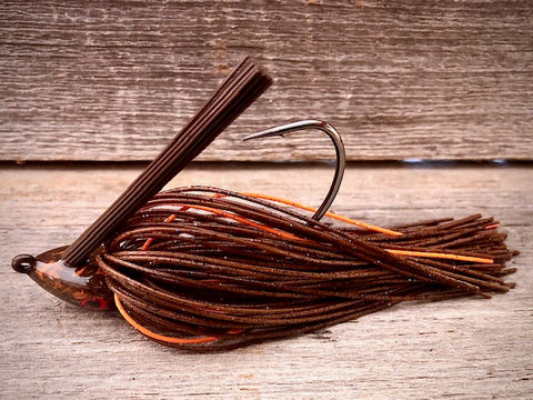 The NEW Brown Jig Series with Orange Accent
