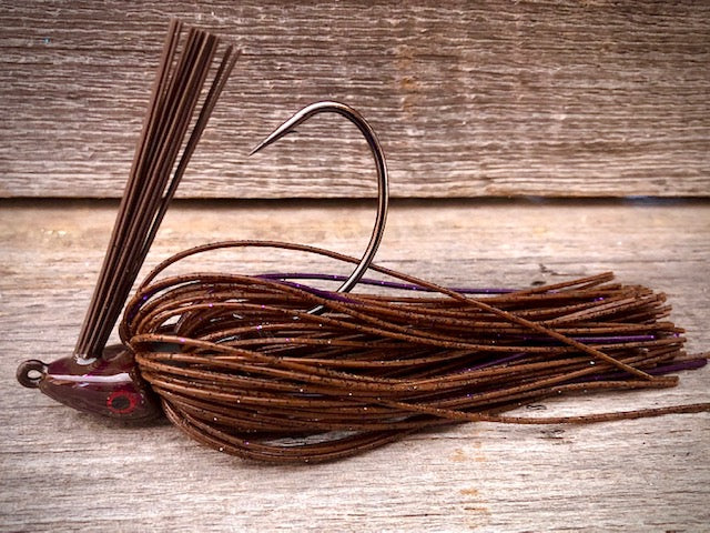 The NEW Brown Jig Series with Purple Accent