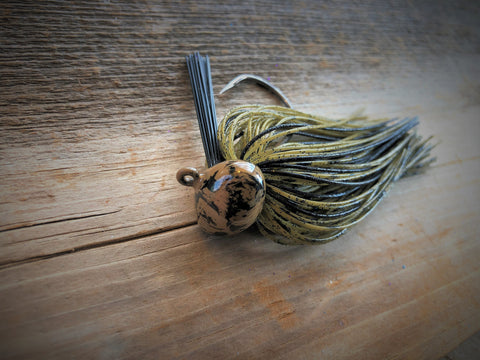 1/2oz Locust Craw Football Jig