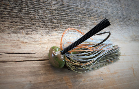 1/2oz Dirty Water Shiner Craw Football Jig