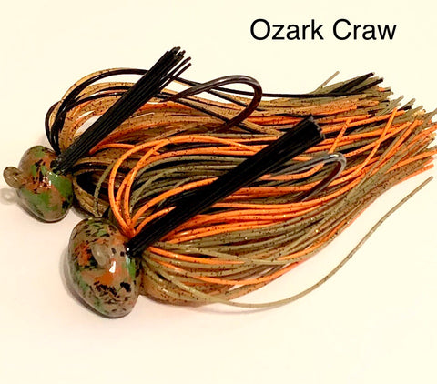 #17 - 1/2 Ozark Craw Custom Football Jigs