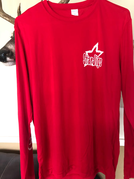 New Dry Fit Style  Star Jigs Long Sleeve Shirts