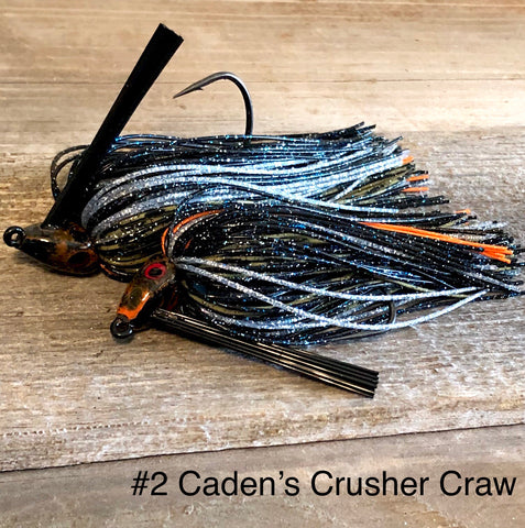 #2 Caden's Crusher Craw Swim Jig