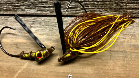 The NEW Brown Jig Series with Yellow Accent